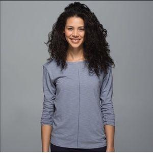 ✨EUC Lululemon Superb long sleeve shirt